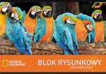 Blok rysunkowy A4,20k National Geographic 271472